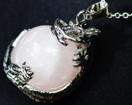 DRAGON BALL ROSE QUARTZ PENDANT BU1141