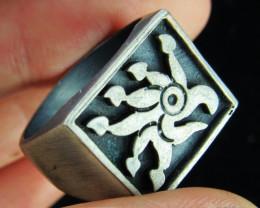Design Pewter Ring PE34