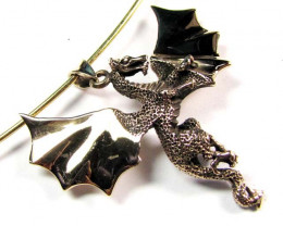 BRONZE DRAGON PENDANT RT 211
