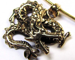 BRONZE DRAGON PENDANT RT 201