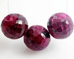 Parcel 3 Ruby Beads BU501