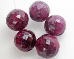 Parcel 5 Ruby Beads BU518