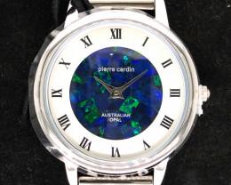 Original Ladies Silver Opal Watch Mosiac Opal - WO 14