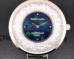 Original Ladies Silver Opal Watch Mosiac Opal - WO 19