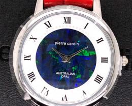 Original Red Ladies Silver Opal Watch Mosiac Opal - WO 35