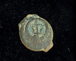 Genuine 2,000-Year-old Widows mite Coin CP 203