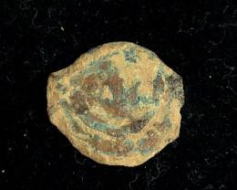 Genuine 2,000-Year-old Widows mite Coin CP 214
