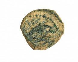 Genuine 2,000-Year-old Widows mite Coin CP 212