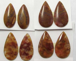 50 CTS PARCEL PAIR AGATE BIRD PAARDISE SUMATRA MS1360