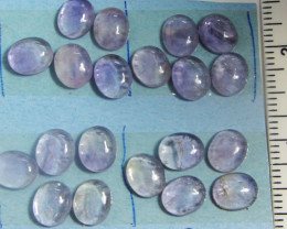 83 CTS PARCEL12 X10 MM AMETHYST GEMSTONES MS 1814