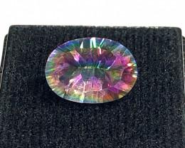 Mystic Quartz Oval Cut  Gemstone OMR 418