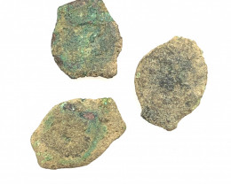 Three Genuine 2,000-Year-old Widows mite Coin CP 279