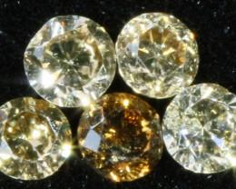 PARCEL 5 ARGYLE CONGAC DIAMONDS VS 0.23 CARATS OP 1179