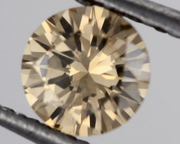 0.43 CTS FINE BROWN DIAMOND CERTIFIED SI1 BR 0020