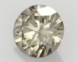 0.40 CTS FINE BROWN DIAMOND CERTIFIED SI1 BR 0009