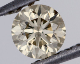 0.39 CTS FREE SHIPPING FINE BROWN DIAMOND CERTIFIED SI1 BR 0018