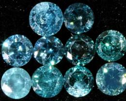 PARCEL10 X 2 POINTERS VS BLUE DIAMONDS 0.35 CARATS OP 1145