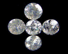 PARCEL 5 WHITE VS 1.8 POINTER DIAMONDS 0.321CT OP1500