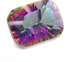 Mystic Quartz Cushion  Cut  Gemstone OMR 447