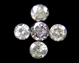 PARCEL 5 WHITE VS 1.8 POINTER DIAMONDS 0.234CT OP1502