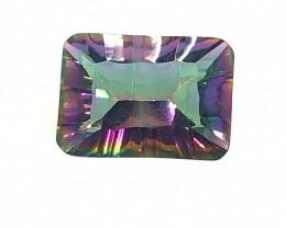 Mystic Quartz Cushion  Cut  Gemstone OMR 461