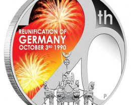 Reunification of Germany 1oz Silver Proof Coin