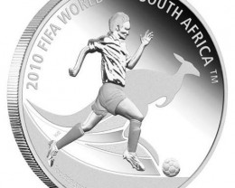 "2010 FIFA World Cup South Africa"" Coin OFFICAL LIST PRICE"