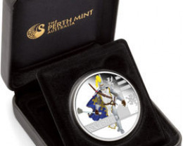 Great Warriors Series - 2010 Knight 1oz Silver Proof Coin