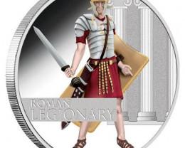 2010 Roman Legionary 1oz Silver Proof Coin Great Warrior
