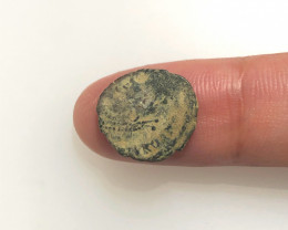 Genuine 2,000-Year-old Widows mite Coin CP 297
