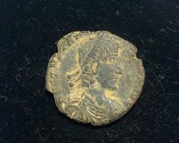 Ancient Roman  Byzantine Bronze   AE Coin   CP 323