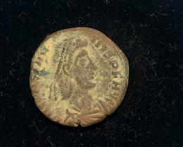 Ancient Roman  Byzantine Bronze   AE Coin   CP 318