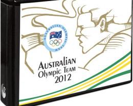 2012 AUSTRALIAN OLYMPIC TEAM $1 FIVE-COIN SET