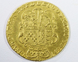 1773 GUINEA 3 Rd HEAD GOLD COIN CO 952
