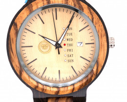 Treasures Eco Friendly Bamboo watch WO 107