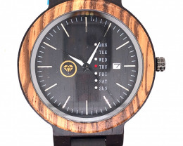 Colorful Wood Treasures Eco Friendly Bamboo watch WO 119