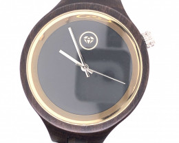 Minimal Dark Treasures Eco Friendly Bamboo watch WO 134