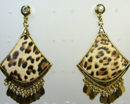ANIMAL PATTERN EARRINGS QT 3457