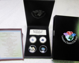 Treasures Collector set Opals and Sapphires Australian ASD102