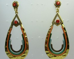 AZTEC LOOP STYLE  EARRINGS QT 358