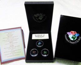 Treasures of World,Opals,sapphire,Emeralds AES106