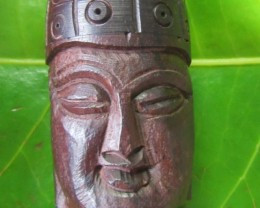 Pair jasper stones in Wood  Buddha AGR635