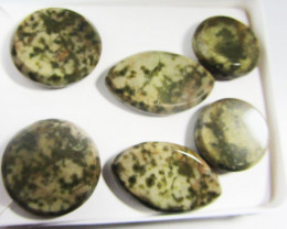 PARCEL DEAL 3 NATURAL JASPER EARRINGS MYGM 436