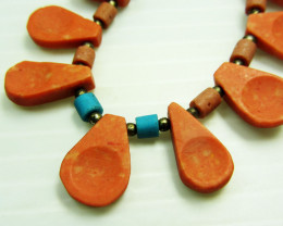 TURQUOISE NECKLACE MJA 241