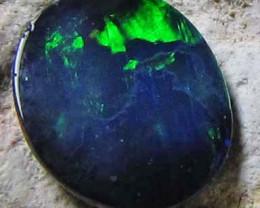 0.20 CTS Australian Black Opal JO1495