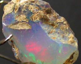 6.95 Cts Ethiopian Rough Opal   QOM 501