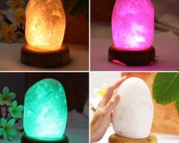 1.25  Kilo Brazilian Frosty Rock Crystal lamp G4