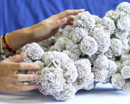 12.9 KILO WHITE DESERT ROSE FROM  MEXICO