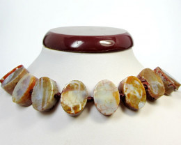 480 CTS NATURAL SHAPE STAND AGATE BEADS AGR 344