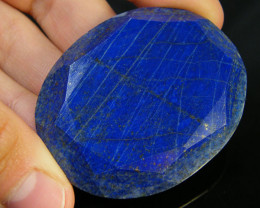 82.40 CTS LAPIS LAZULI OVAL FACETED STONE AG 1566